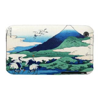 Umegawa in Sagami province Katsushika Hokusai iPhone 3 Case