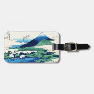 Umegawa in Sagami province Katsushika Hokusai Luggage Tag