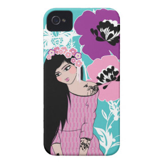 Umeko by Gina Marr iPhone 4 Covers