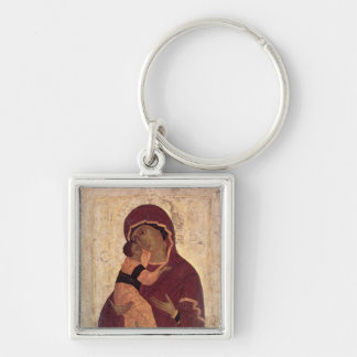 Umilenie Virgin of Wladimir, Moscow School Keychain