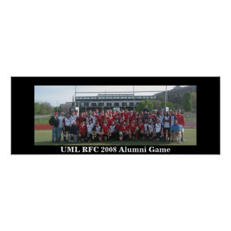 UML RFC 2008 Alumni Game Poster