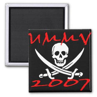 UMMV 2007 Pirate Show magnet