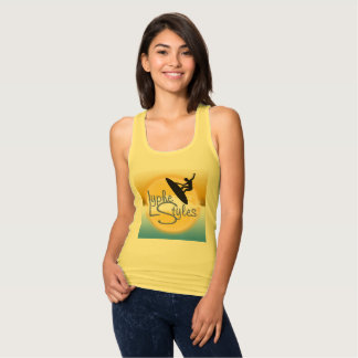 UMOL LypheStyles Logo Surfer Womens Tank Top