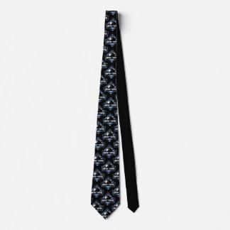 Umpire-Empire Patterned tie