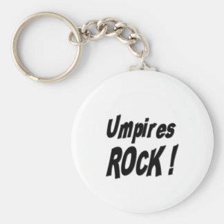 Umpires Rock! Keychain