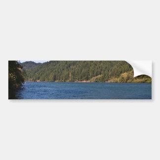 Umpqua River at Brandy Bar Bumper Sticker