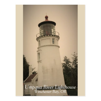 Umpqua River Lighthouse Postcard