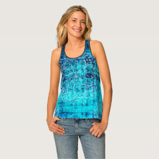 Umsted Design Grungy Pinwheels Singlet