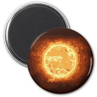 un 6 cm round magnet