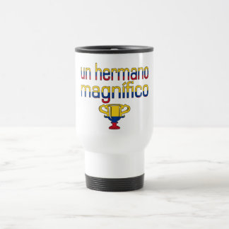Un Hermano Magnífico Colombia Flag Colors Travel Mug