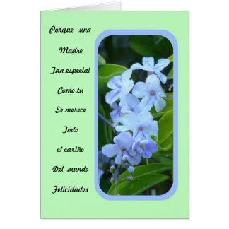 Una Madre tan especial como tu Card