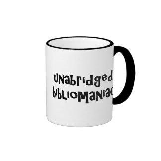 Unabridged Bibliomaniac Mugs