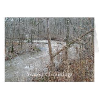 Unami Creek Season's Greetings Card