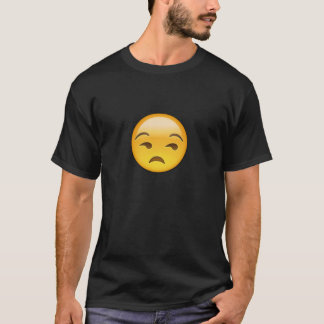Unamused Face Emoji T-Shirt