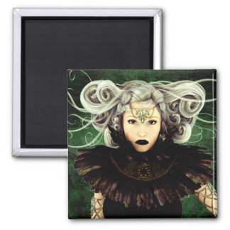Unamused Gothic Artwork Magnet