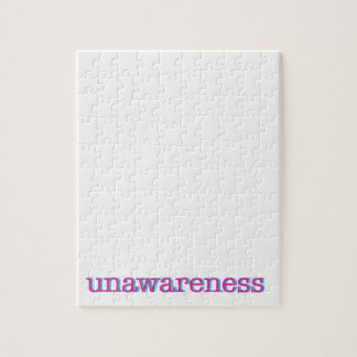 Unawareness.  60's edition. jigsaw puzzle
