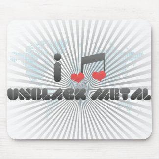 Unblack Metal fan Mouse Pad