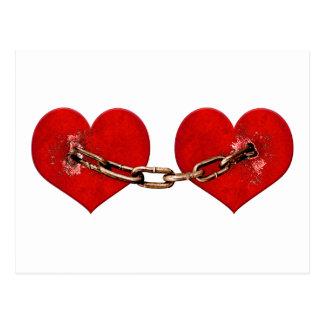 Unbreakable Love Concept Postcard