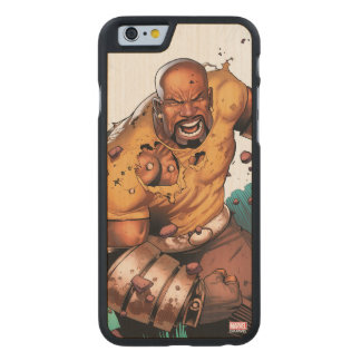 Unbreakable Luke Cage Carved Maple iPhone 6 Case