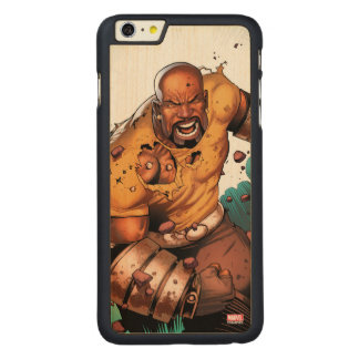 Unbreakable Luke Cage Carved Maple iPhone 6 Plus Case