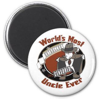 Uncensored Uncle Fridge Magnet