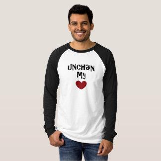 unchain my heart sleeve tee by DAL