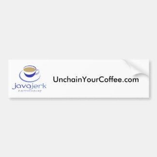 UnchainYourCoffee.com Bumper Sticker