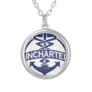 Uncharted Veterinary Conference Silver Plated Necklace