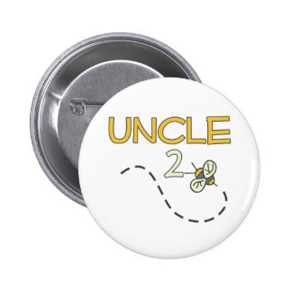 Uncle 2 Bee 6 Cm Round Badge