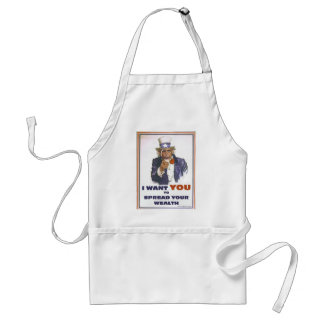 UNCLE BARACK WANTS YOU TO SPREAD THE WEALTH STANDARD APRON