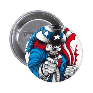 Uncle Dead wants You Pinback Button