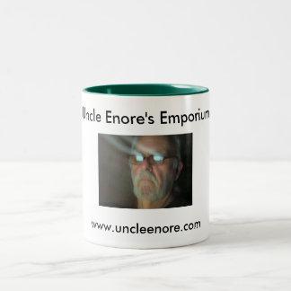 Uncle Enore's Emporium Stuff Two-Tone Mug