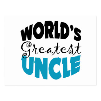 Uncle Gift Postcard