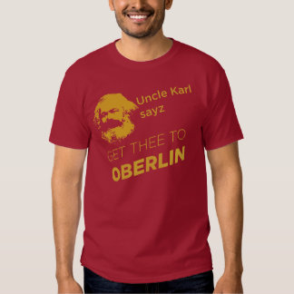 Uncle Karl: red/dark Tee Shirt