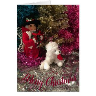 Uncle Mistletoe & Pup Card