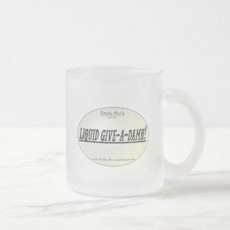Uncle Mo's Small Liquid Give-a-Damn Frost Mug