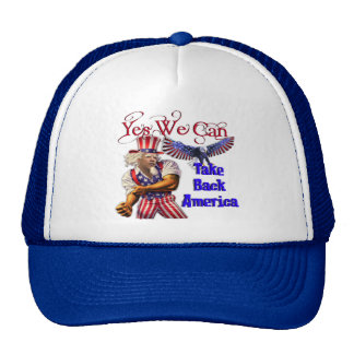 Uncle Obama, Yes We Can Take Back America Cap