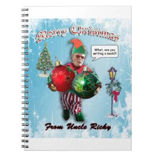 Uncle Ricky Notebook
