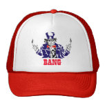 Uncle Sam Bangs Cap
