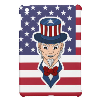 Uncle Sam cartoon Case For The iPad Mini
