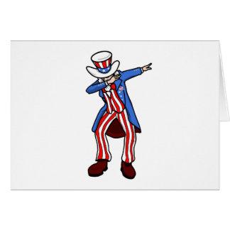 Uncle Sam Dab Card