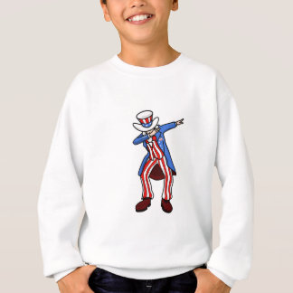 Uncle Sam Dab Sweatshirt