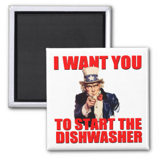 Uncle Sam Dishwasher magnet