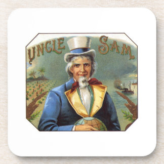 Uncle Sam Drink Coaster