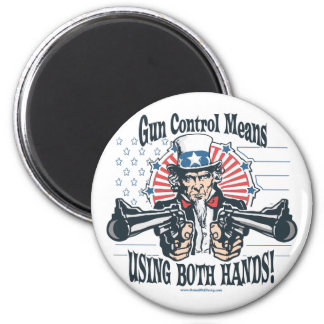 Uncle Sam Gun Control Magnet