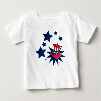 Uncle Sam hat and stars Baby T-Shirt
