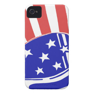 Uncle Sam Hat iPhone 4 Cover