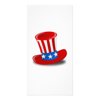 Uncle Sam Hat Personalized Photo Card