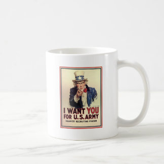 Uncle Sam - I Want You Coffee Mug
