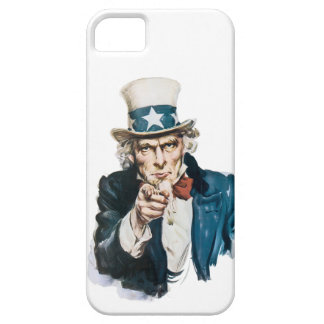 Uncle Sam I Want You Customize With Your Text iPhone 5 Covers